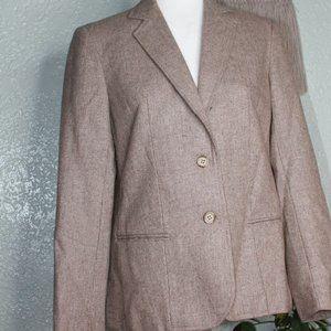 Vintage Beige Tan Blazer